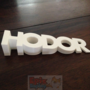Game Of Thrones - HODOR - doorstop